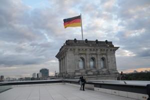 Berliner Abendhimmel